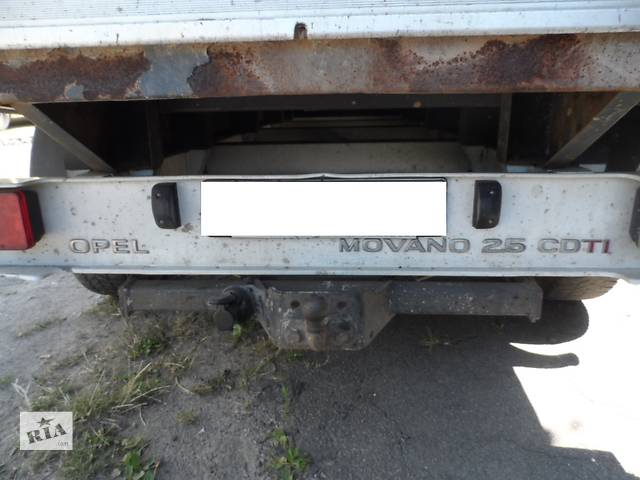 бу Рама на Рено Мастер Renault Master Опель Мовано Opel Movano 2003-2010 в Ровно