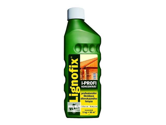 продам Пропитка для уничтожения насекомых в древесине (шашеля, короеда и т.п.) – Lignofix I-Рrofi концентрат бу в Львове