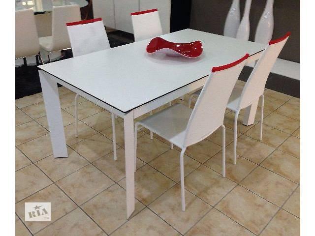 купить бу Раскладной стол Calligaris Baron 4010-MV 130 керамика.  Лучшая цена. Реальные фото в Киеве