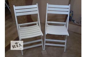 Раскладной белый стул Кверди  для свадебных церимоний, кафе, ресторанов.