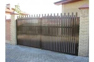 Новые Ворота распашные Alutech