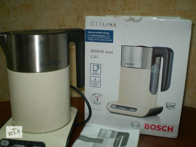 Распродажа! Чайник BOSCH TWK 8637 GB- объявление о продаже  в Полтаве