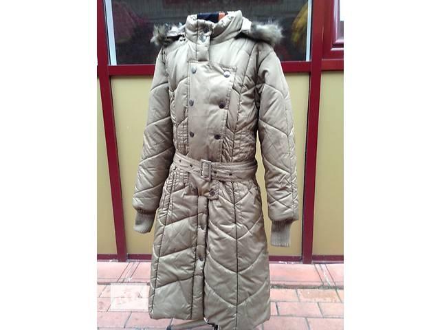 бу Распродажа. Зимнее пальто на девочку Mona Bella. Последний размер 152-160см в Броварах