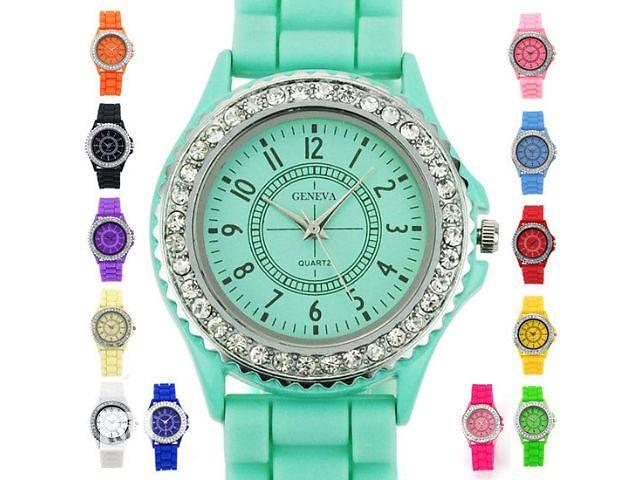 бу Распродажа! Женские часы Geneva luxury в Львове