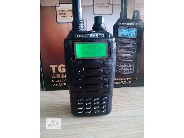 продам Радиостанция профессиональная Quansheng TG-UV2, 3 диапазона, 5 Вт, мощный АКБ бу в Львове