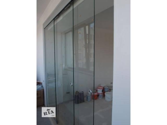 купить бу Раздвижные стеклянные двери межкомнатные в Одессе