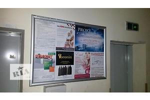 Рекламы в лифтах