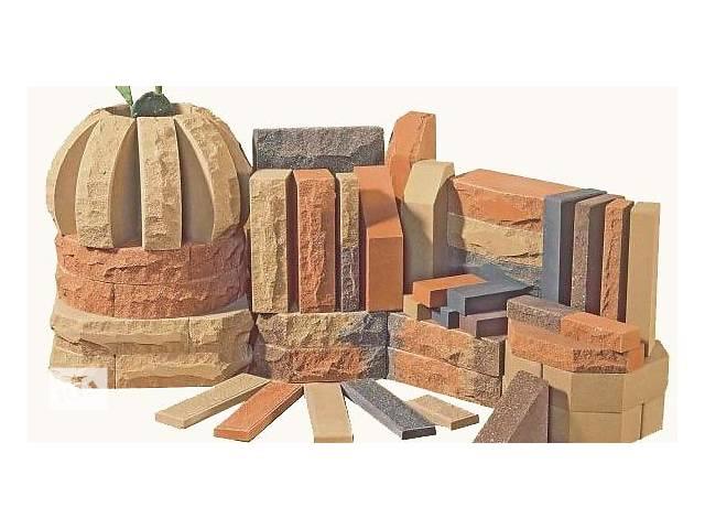 """бу Реалізую лицювальну цеглу """"Рваний камінь"""" - ЛІТОС м.Луганськ в Луцке"""