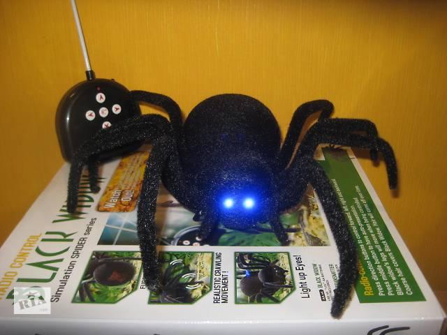 реалистичный паук на дистанционном управлении - игрушка-прикол для веселой компании- объявление о продаже  в Харькове