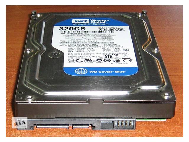 продам Реализуем Жесткий диск ( диски ) HDD для Стационарного Компьютера и SATA и IDE РАЗНЫХ ОБЪЕМОВ: на 160, 200, 250 и 320 Gb бу в Львове