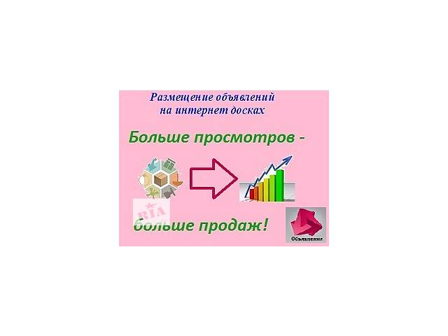 Реклама в интернете- объявление о продаже   в Украине