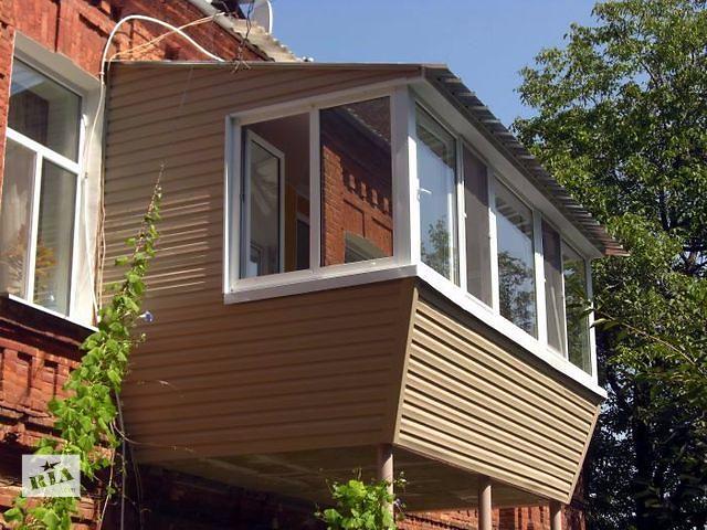 продам Реконструкция и остекление балконов и лоджий бу в Киеве