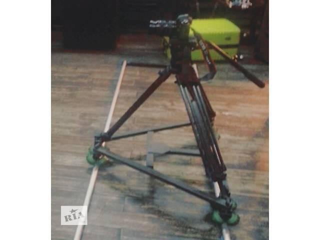 Рельсовая тележка Proaim Swift wheel Dolly System из этого комплекта совместима с прямыми, и с изогнутыми рельсами.- объявление о продаже  в Киеве