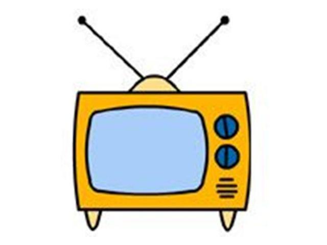 Рисунок телевизора детям