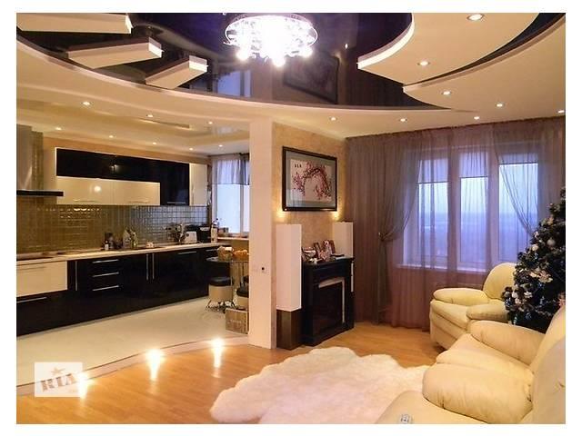 Ремонт своими руками зал с кухней