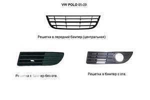 Новые Решётки бампера Volkswagen Polo