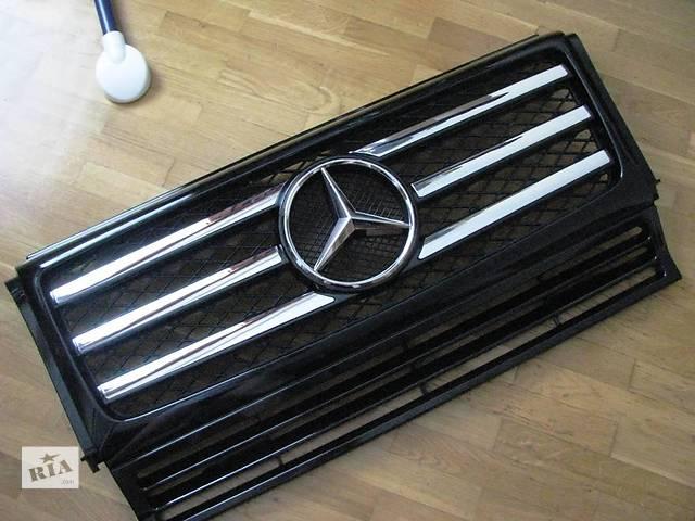 купить бу Решетка радиатора AMG G55 G500 G350 Mercedes G-Class W463 в Киеве