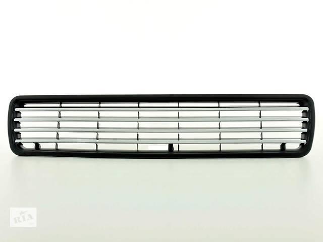 бу Решетка радиатора Audi 80 B4 черная + хром (FKSG962-W) в Луцке