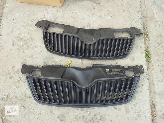 бу  Решётка радиатора для легкового авто Skoda Fabia 07-09 в Львове