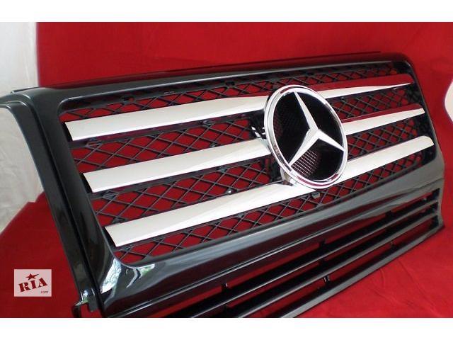 купить бу Решетка радиатора тюнинг рестайлинг Mercedes W463 в стиле G55 в Луцке