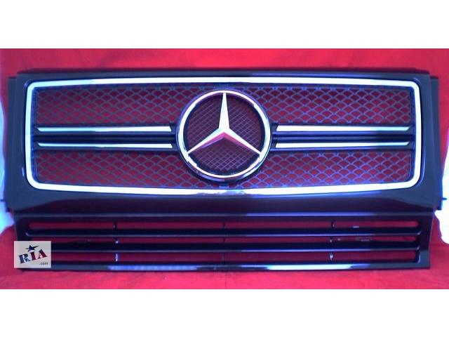 продам Решетка радиатора тюнинг рестайлинг Mercedes W463 в стиле G63 бу в Луцке