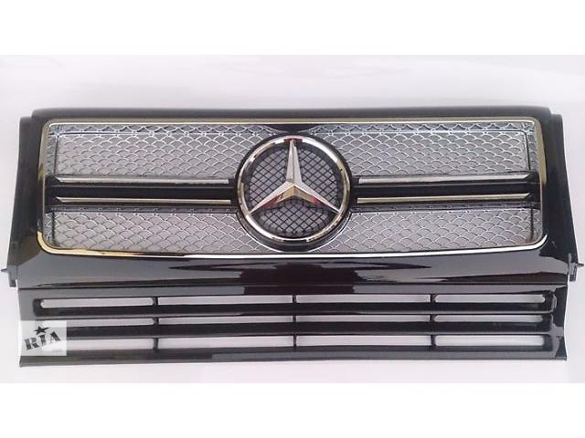 Решетка радиатора тюнинг рестайлинг Mercedes W463 в стиле G65- объявление о продаже  в Луцке