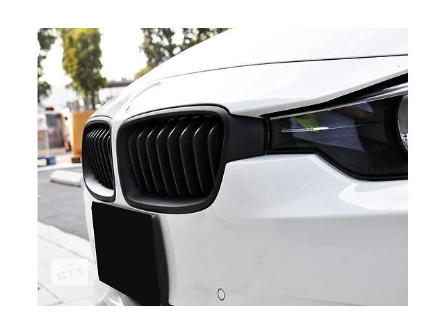 Решетка радиатора ноздри BMW F30 F31 черный мат FKGSBM14005- объявление о продаже  в Луцке