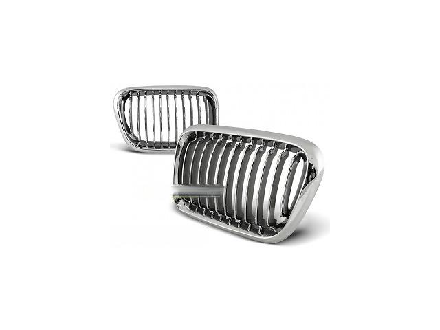купить бу Решетка радиатора ноздри тюнинг BMW E36 хром GRBM02 в Луцке
