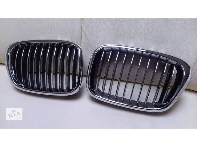 купить бу Решетка радиатора ноздри тюнинг BMW E39 хром GRBM07 в Луцке