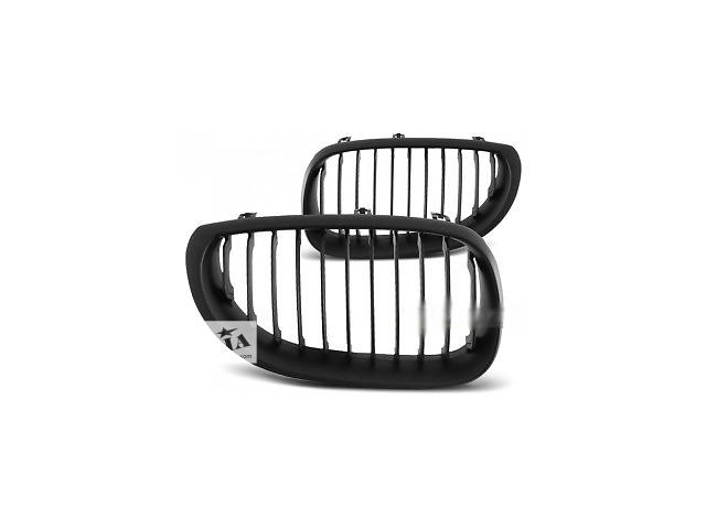 Решетка радиатора ноздри тюнинг BMW E60 E61 черный мат GRBM21 БМВ Е60 Е61- объявление о продаже  в Луцке