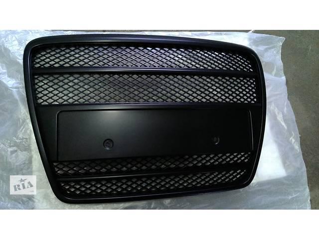 бу Решетка радиатора тюнинг Audi A6 C6 черный мат (FKSG33009-1) в Луцке