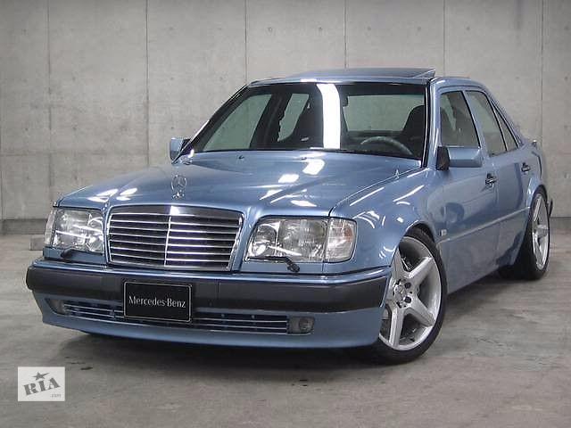 купить бу Решетка радиатора тюнинг Mercedes W124 рестайл стиль Avantgarde (GRME02) в Луцке