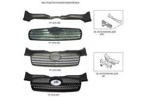 Новые Молдинги решетки радиатора Hyundai Accent