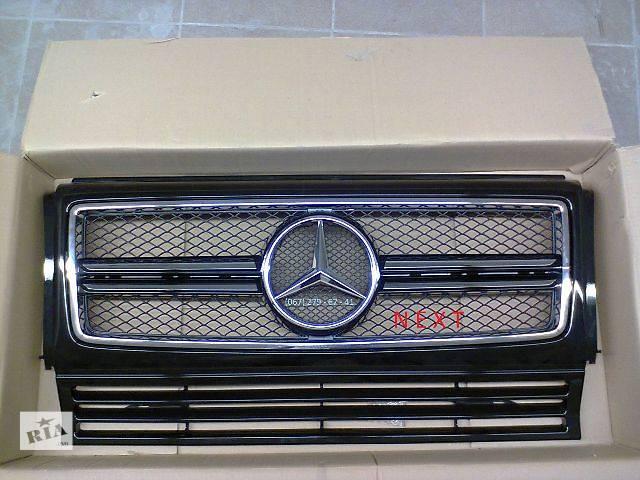 купить бу Решетка радиатора AMG G63, G65 (2016г) Mercedes G-class W463 в Киеве