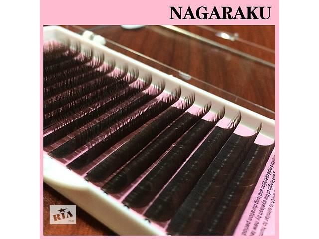 продам Ресницы для наращивания на ленте коричневые Nagaraku 16 линий бу в Киеве