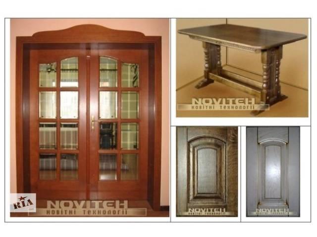 купить бу Реставрація дверей, меблів та інших виробів з дерева в Тернополе