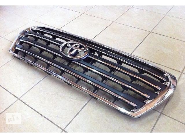 бу Рестайлинговая решетка радиатора Toyota Land Cruiser 200 в Луцке