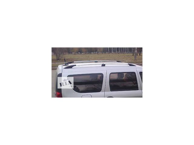 купить бу Рейлинги серебристые (пластиковые концевики) на Dacia  Logan, в Луцке
