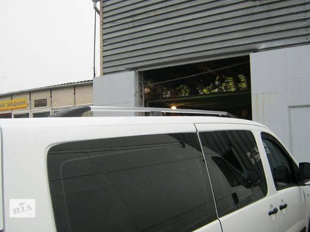 бу Рейлинги серебристые (пластиковые концевики) на Fiat Scudo в Луцке