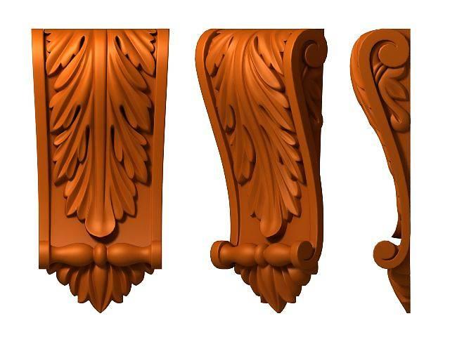 купить бу Резьба по дереву на фрезерных станках с ЧПУ, 2Д, 3Д, прорезная, контурная резьба. в Киеве