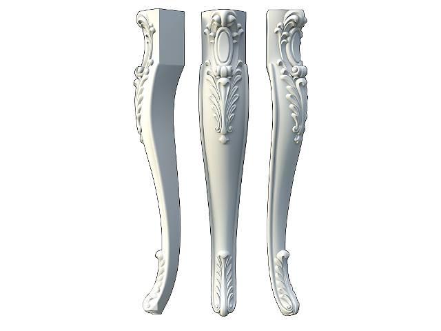 купить бу Ножки мебельные резные, фигурные, гнутые для стола, журнального, консольного столика  в Киеве