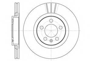 Тормозной диск Seat