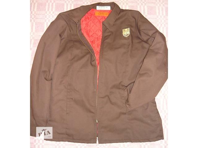 Роба,спецодежда,рабочая куртка «UPS» б/у.- объявление о продаже  в Николаеве