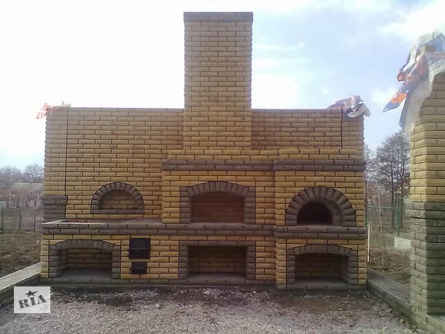 продам Камины,барбекю,комплексы,русские печи бу  в Украине