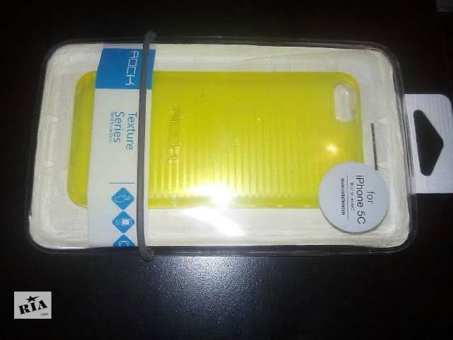бу Rock Брендовый стильный желтый чехол для iPhone 5C в Запорожье