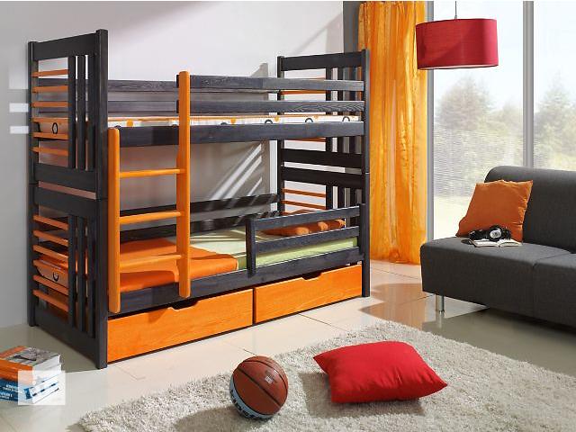 купить бу Roland - дизайнерская двухъярусная кровать из массива дерева, от фабрики мебели в Киеве