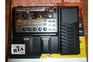 Новые Гитарные процессоры Roland