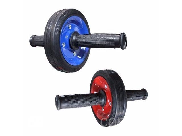 бу Ролик гимнастический для пресса металлический одно колесо ( колесо для пресса) в Одессе