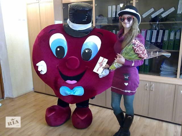 купить бу Ростовая кукла Сердце, романтическое поздравление, признание в любви, Киев в Киеве