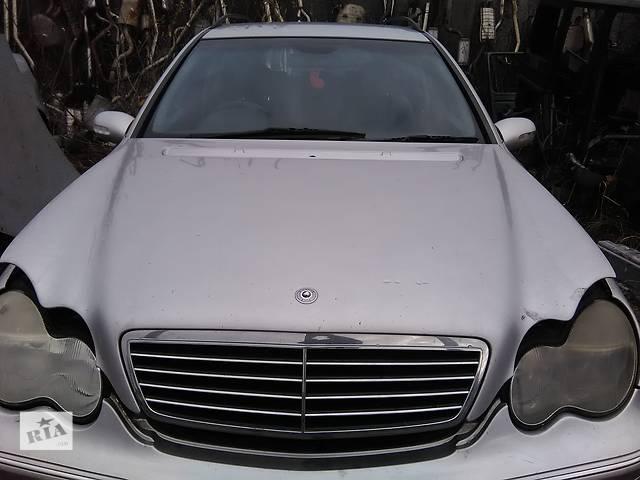 продам Б/у капот для легкового авто Mercedes C-Class бу в Львове